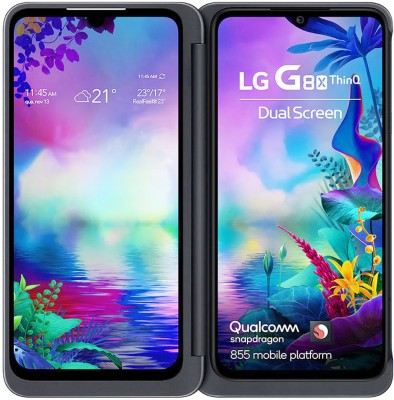 LG G8X (Black, 128 GB)(6 GB RAM)