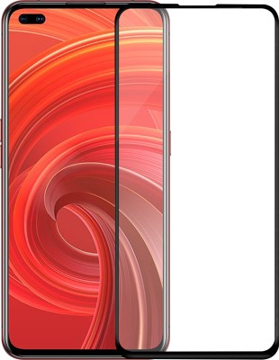 Hupshy Edge To Edge Tempered Glass for Realme X50 Pro(Pack of 1)