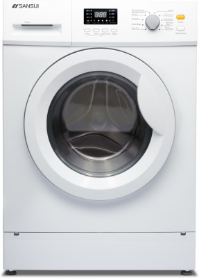 Sansui 6.5 kg Fully Automatic Front Load with In-built Heater White  (SIFL65BW)