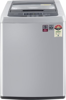LG 6.5 kg 5 Star Inverter Fully Automatic Top Load Silver(T65SKSF4Z)