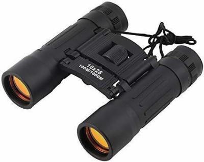 FosCadit Binocular Telescope 10 * 25 for Hiking Camping Outdoor Sport Travel Handy Scope Binoculars(15 mm , Black)