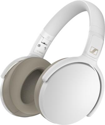 Sennheiser HD 350BT Bluetooth Headset(White, On the Ear)