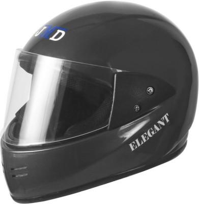 JMD ELEGANT Motorbike Helmet(Grey Plain)