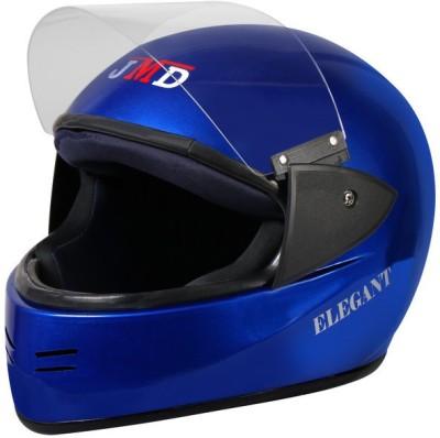 JMD Elegant Full Face (BLUE, L) Motorbike Helmet(Blue)