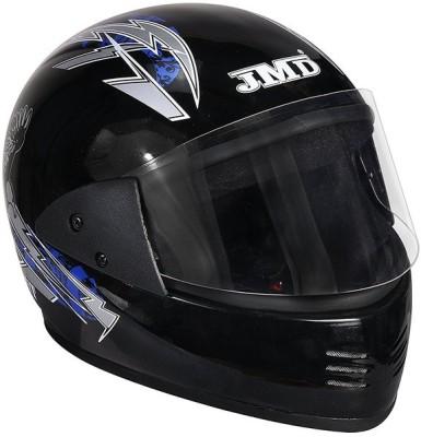 JMD ELEGANT Motorbike Helmet(Blue, Black)
