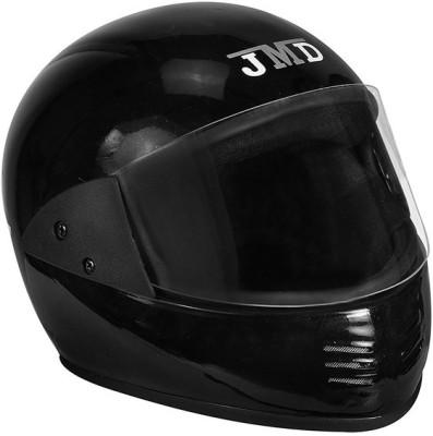 JMD Elegant- Black Motorbike Helmet(Black)
