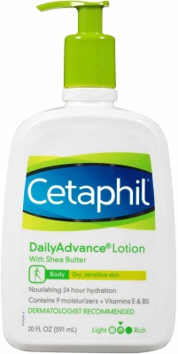 Cetaphil Daily Advance Lotion with Shea Butter 591 ml(591 ml)