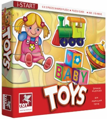 ToyKraft Baby Puzzle (Kiddo Toys) for 2 year-olds and above(18 Pieces)