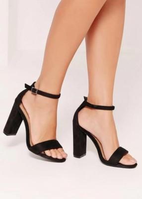 Fashion Tails Women Black Heels