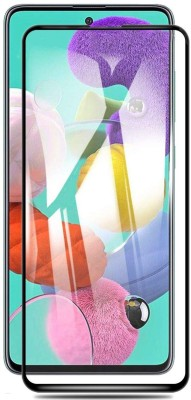 KWINE CASE Edge To Edge Tempered Glass for Samsung Galaxy A71(Pack of 1)