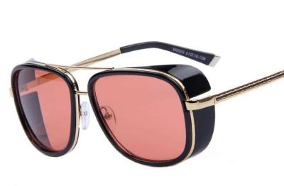 G-HAWK Rectangular Sunglasses(Red)