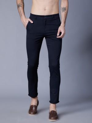 Highlander Regular Fit Men Dark Blue Trousers