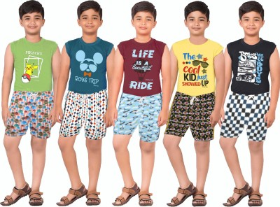 Meril Kids Nightwear Boys Printed Pure Cotton