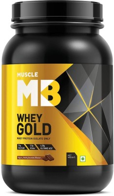 Muscle MB Whey Gold Whey Isolate Whey Protein(1 kg, Rich...