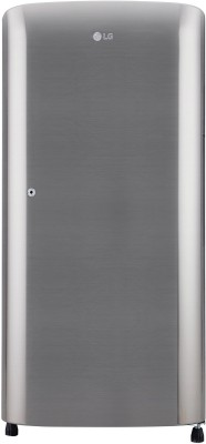 LG 190 L Direct Cool Single Door 3 Star  2020  Refrigerator   Shiny Steel, GL B201RPZD