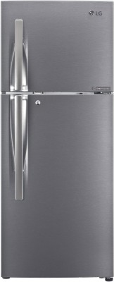 LG 260 L Frost Free Double Door 3 Star (2020) Convertible Refrigerator(Dazzle Steel, GL-S292RDS3)