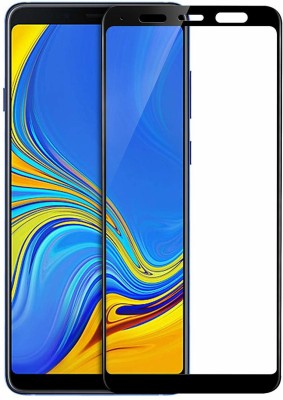 Jabox Edge To Edge Tempered Glass for SAMSUNGA A8 STAR(Pack of 1)
