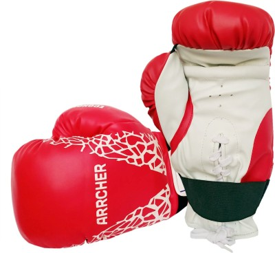 Prokick Arrcher Economy Boxing Gloves, 8oz (Blue/White) Boxing Gloves(Red/White)