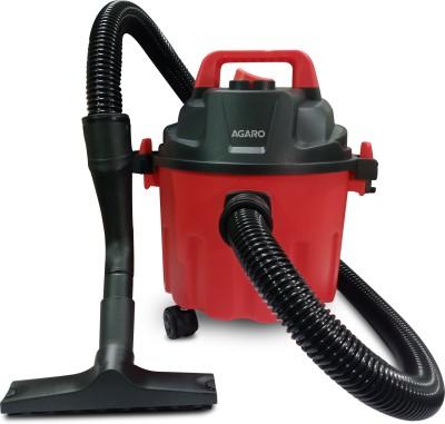AGARO Rapid 1000-Watt, 10-Litre Wet & Dry Vacuum Cleaner, with Blower Function Wet & Dry Vacuum Cleaner(Red & Black)