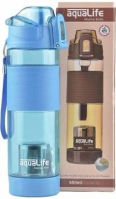 Ramdev Enterprise 650 ml Water Purifier Bottle(Blue)