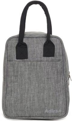 ADIRSA LB3001 Waterproof Lunch Bag(Grey, 12 L)