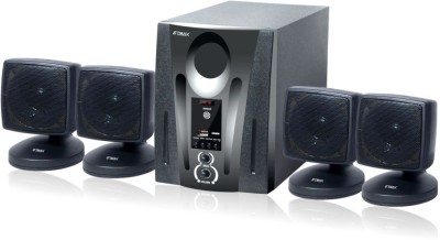 etmax INOXE series 4.1 Home Cinema(4.1 home theater with Bluetooth, AUX, FM/AM Radio, SD Card, USB)