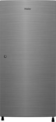 Haier 220 L Direct Cool Single Door 3 Star (2020) Refrigerator  (Dazzle Steel, HRD-2203CDS-E)