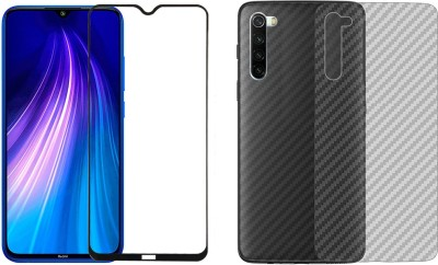 Aspir Front and Back Screen Guard for Mi Redmi Note 8(Pack of 2)