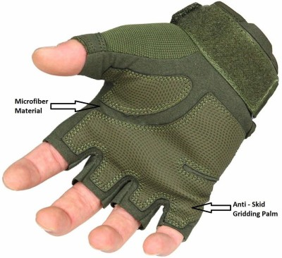 SareeOpera Hand Gloves Driving Gloves(Green)