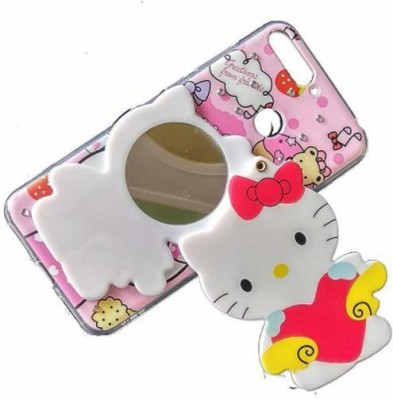 Lejaao Book Cover for Mirror Kitty Cover Compatible with Samsung Galaxy J2 - 10 (Colours & Print May Slighty Vary)(Multicolor, 3D Case, Silicon)