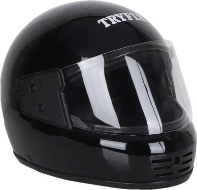 TRYFLY FULL FACE HELMET Motorbike Helmet(Black)