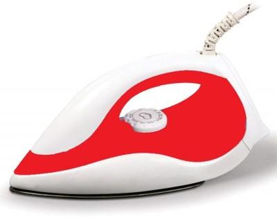 KONVIO Light Weight Dry Iron 1000 W Dry Iron(Red, White)