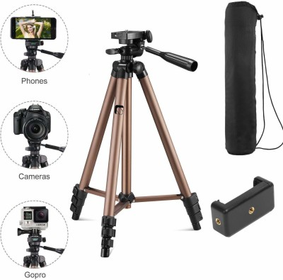 Syvo WT-3130 Tripod, Tripod Kit(Brown/Black, Supports Up to 5000 g)