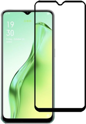 Q Box Edge To Edge Tempered Glass for OPPO A31(Pack of 1)