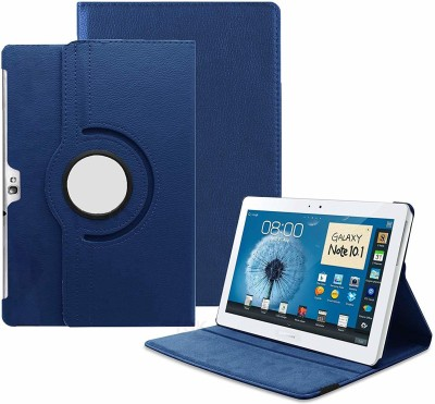 TGK Book Cover for Samsung Galaxy Note 10.1 (2012 Edition) GT-N8000 GT-N8010 GT-N8020 GT-N800 GT-N8013 GT-N8005(Blue, Cases with Holder)