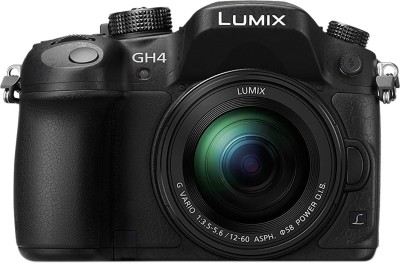 Panasonic Lumix DMC-GH4 Mirrorless Camera Body with 12-60mm Lens(Black)
