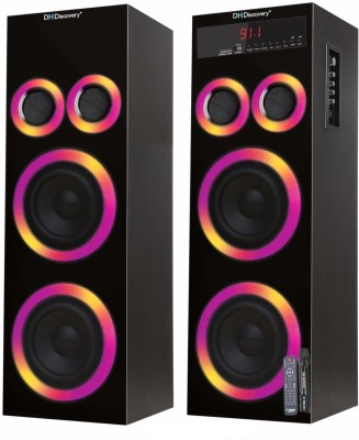 DH Discovery Dj 2727 Mini Hi-Fi System(Black)