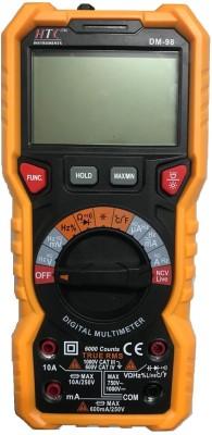 HTC DM-98 TRMS Digital Multimeter(Black, Yellow 6000 Counts)