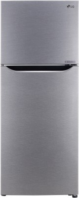 LG 284 L Frost Free Double Door 2 Star  2020  Convertible Refrigerator Dazzle Steel, GL T302SDSY