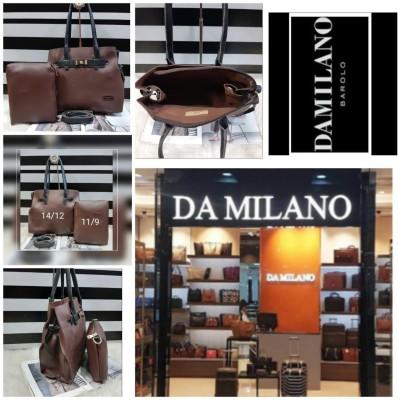 Da Milano Girls Brown Handbag