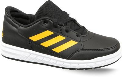 ADIDAS Boys   Girls Lace Running Shoes Black ADIDAS Sports Shoes