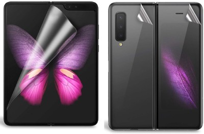 SmartLike Front and Back Screen Guard for Samsung Galaxy Fold(Pack of 1)