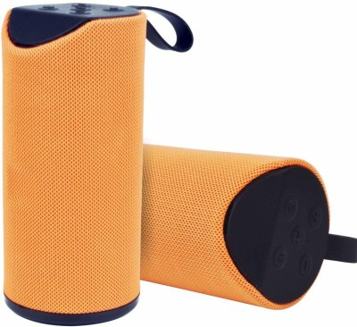 KARWAN Portable 10 W Bluetooth Speaker(Orange, Mono Channel)