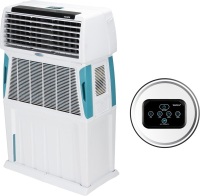 Symphony 110 L Room/Personal Air Cooler(White, Touch 110)