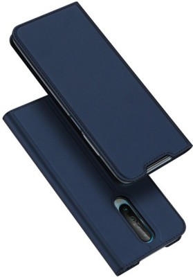 Vodex Flip Cover for Poco X2, Mi Redmi K30, Mi Redmi K30 5G(Blue, Dual Protection)