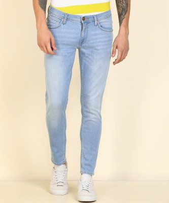 Lee Tapered Fit Men Light Blue Jeans