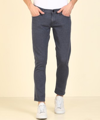 Lee Tapered Fit Men Grey Jeans