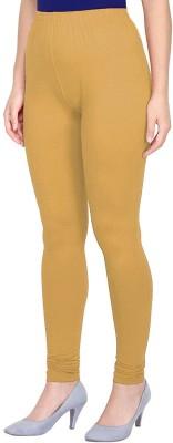 Noons Churidar  Ethnic Wear Legging(Beige, Solid)