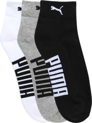Puma Men & Women Printed Ankle Length(Pack of 3)