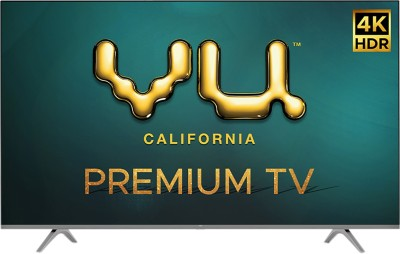 Vu Premium 139cm (55 inch) Ultra HD (4K) LED Smart Android TV(55PM)